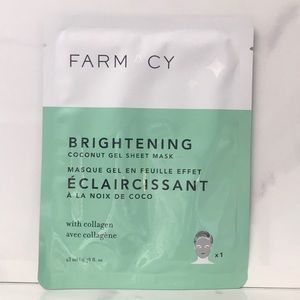 🎉 3/$15 Farmacy Brightening Coconut GelSheet Mask